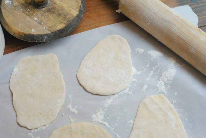 Pastry Recipe in process