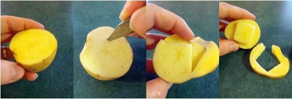 DIY Potato Stamps Craft