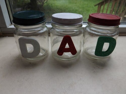 Father's Day Crafts: Organizing