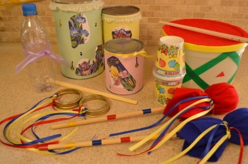 How to Make Your Own Musical Instruments with Your Kids!
