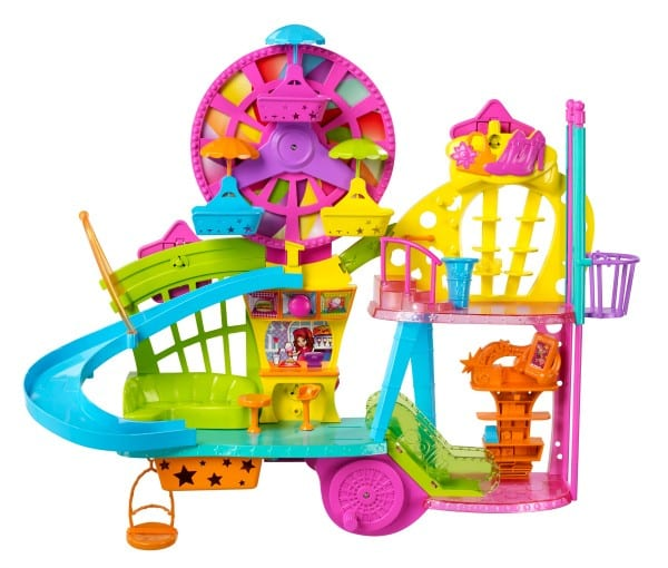 Polly pocket wall party mall on the wall playset review and giveaway