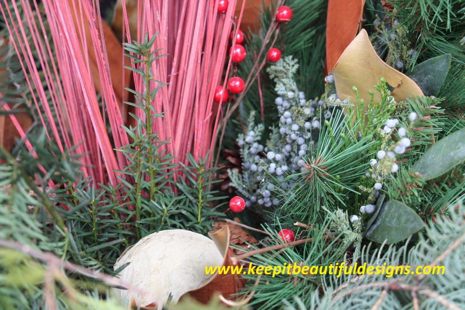 Six Steps to a Fabulous Holiday Urn!