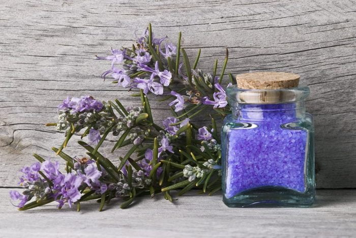 How to Make Scented Bath Salts