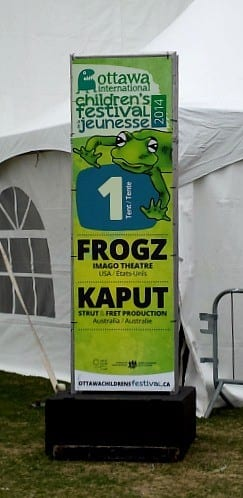 Frogz Sign