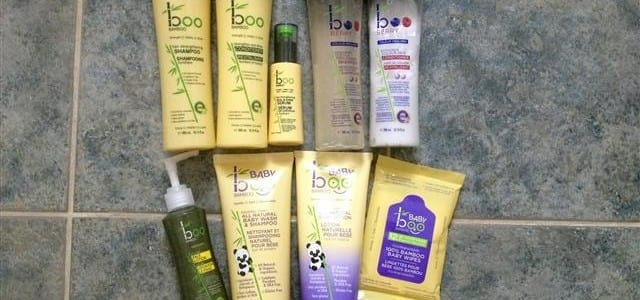 Boo Bamboo Skin Care and Hair Products for Mom and Baby #Review and #Giveaway ~ CAN 08/25