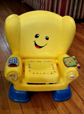 Fisher-Price's Laugh and Learn® Smart Stages™ Chair Review