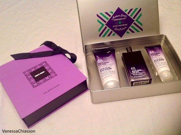 The Body Shop's White Musk gift sets.