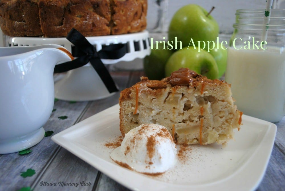 The Ultimate Irish Apple Cake