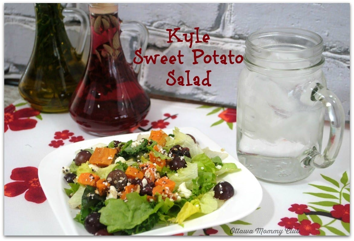 Kale Sweet Potato Salad Recipe