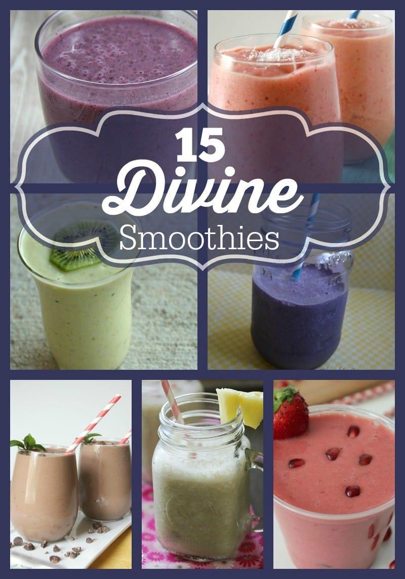 15 Divine Smoothie Recipes