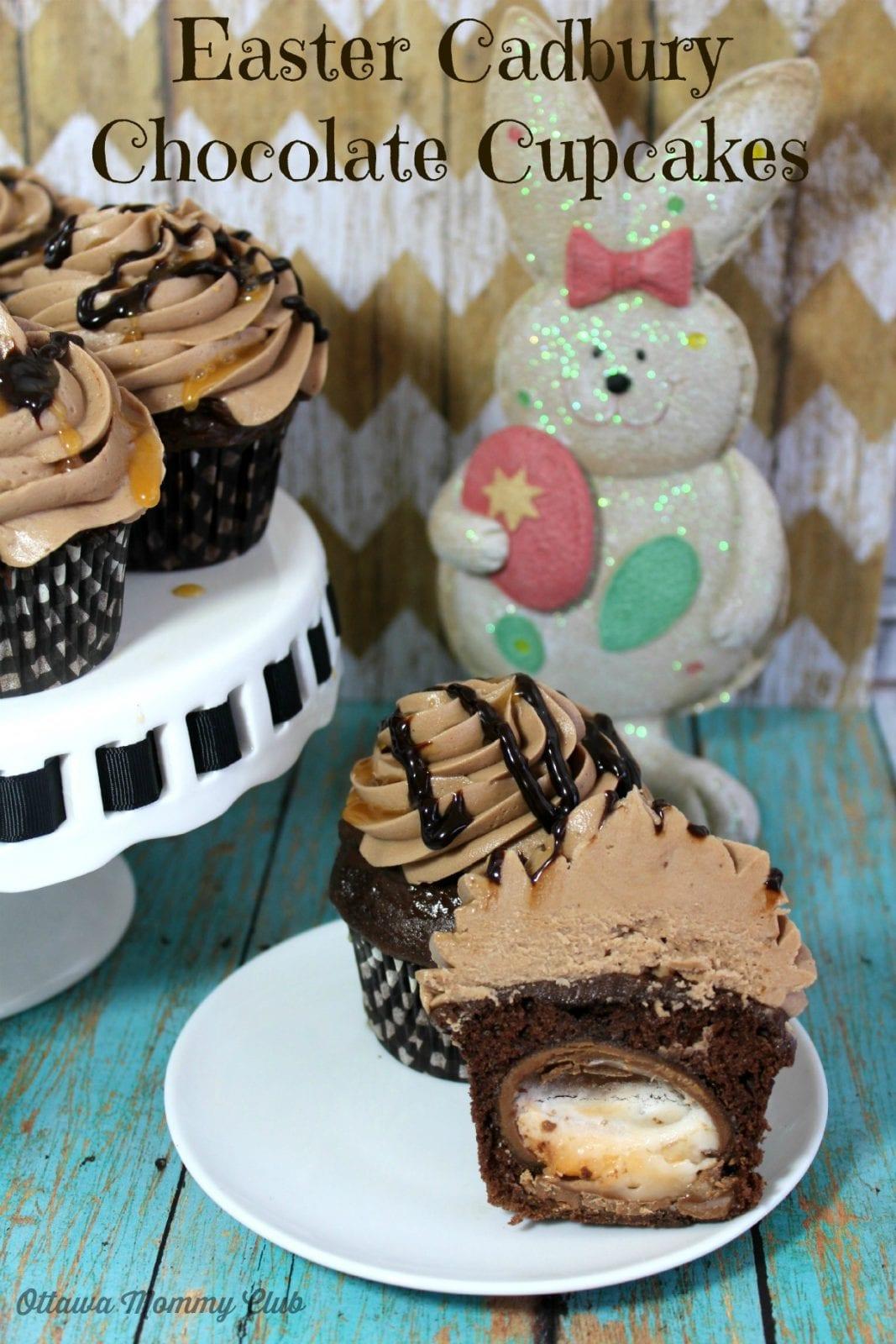 Heavenly Easter Cadbury Eggs Chocolate Cupcakes Recipe