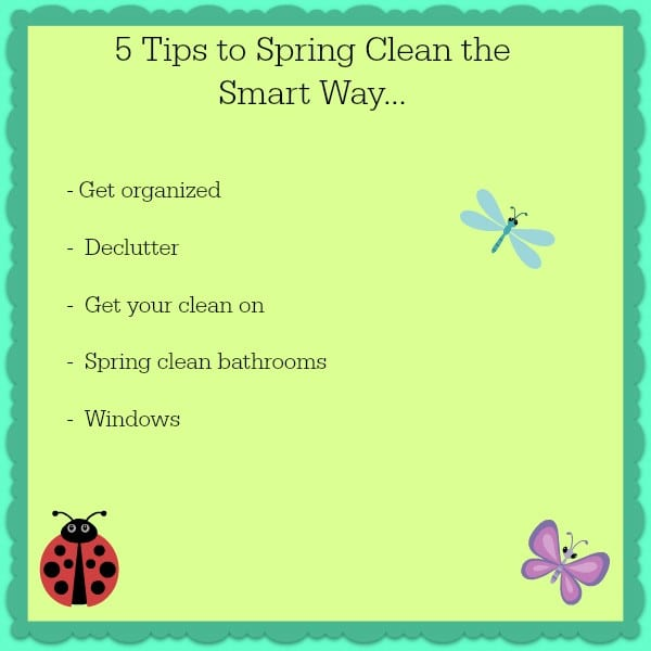 5 Tips To Spring Clean
