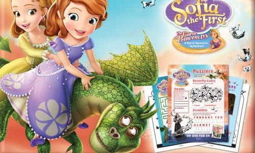 Sofia the First: The Curse of Princess Ivy Activity Sheets