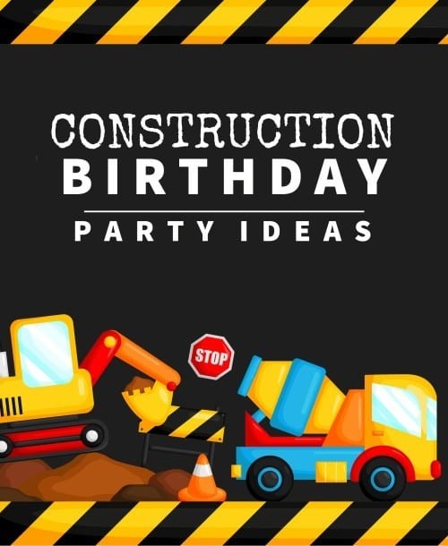 Construction Themed Birthday Party Ideas Ottawa Mommy