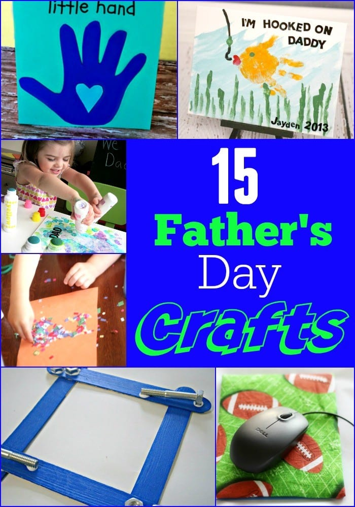 Amazing Children's Crafts for Father's Day