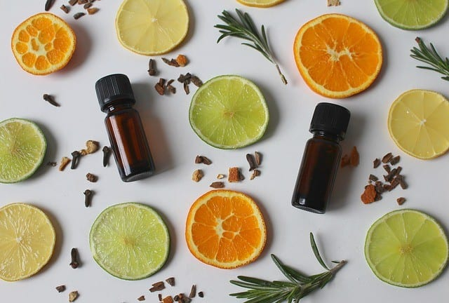 Essential Oils in a Steam Inhalation, a Natural Solution for Cold and Flu Symptoms