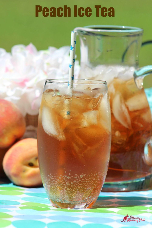 Peach ice Tea recipe