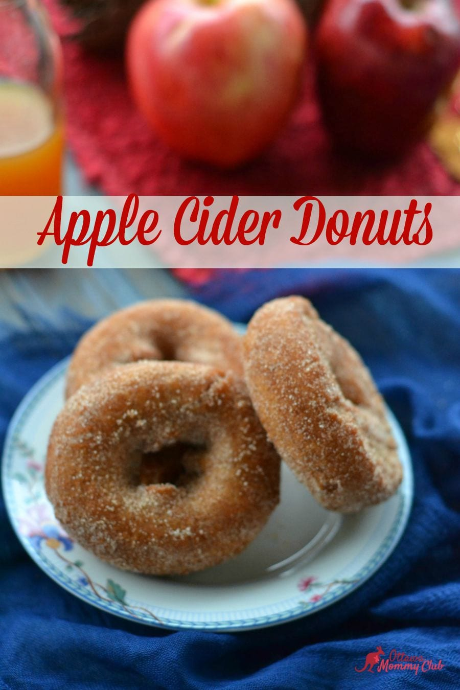 Apple Cider Donuts Recipe : Ottawa Mommy Club – Moms and Kids ...