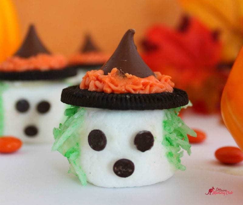 Halloween Spooky Marshmallow Witches recipe