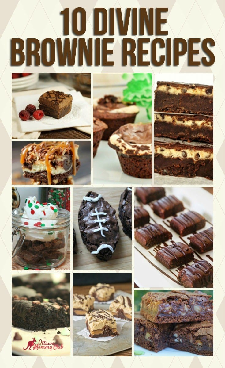 Divine Brownie Recipes 1