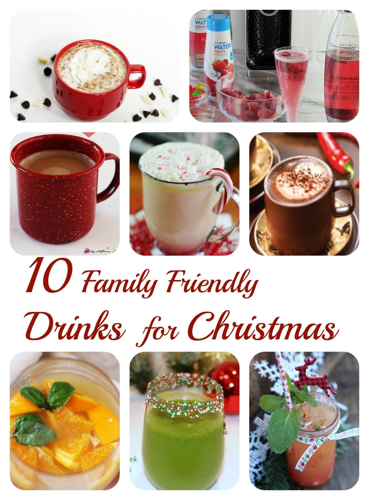 10 Family Friendly Drinks for Christmas