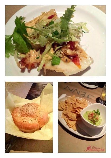 Jack Astor's, Lansdowne food