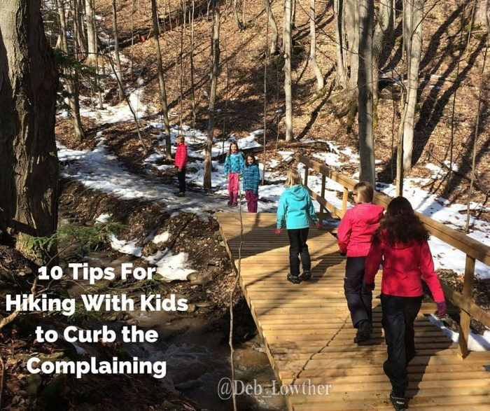 One of the greatest activities to inspire active kids and get the family outside is hiking.  Check out these 10 Tips for Hiking with Kids to Curb the Complaining!