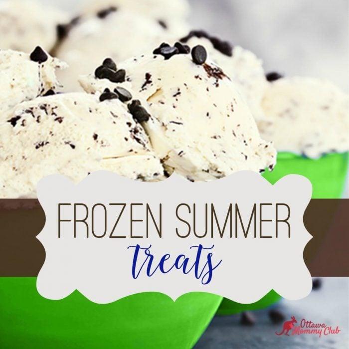 Frozen Summer Treats