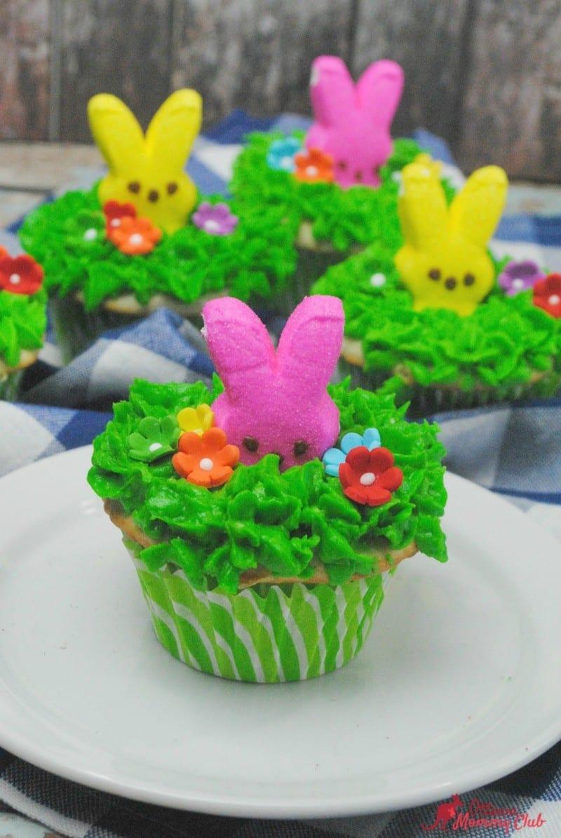 Easter Peek a Boo Peeps Cupcakes Recipe