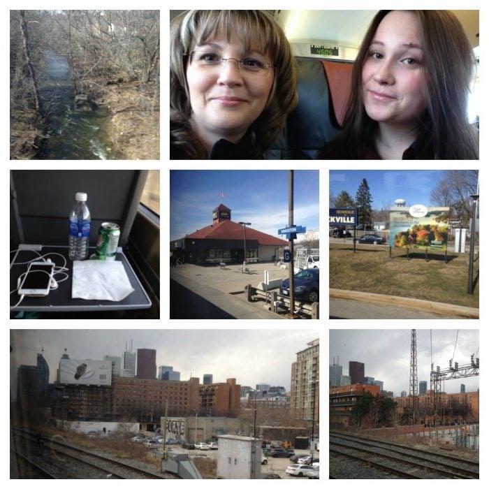 Train Ride to Toronto