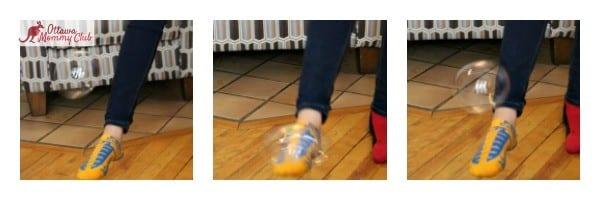 Ottawa Mommy Club Messi FootBubbles Meg Bounce Collage Photo