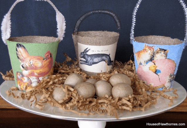Spring Peat Pot Craft