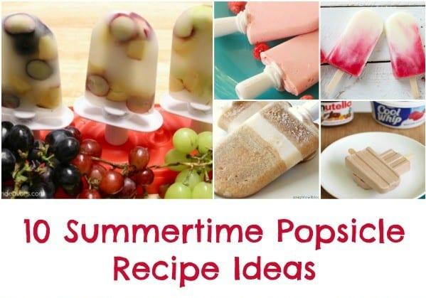 10 Summertime Popsicle Recipe Ideas
