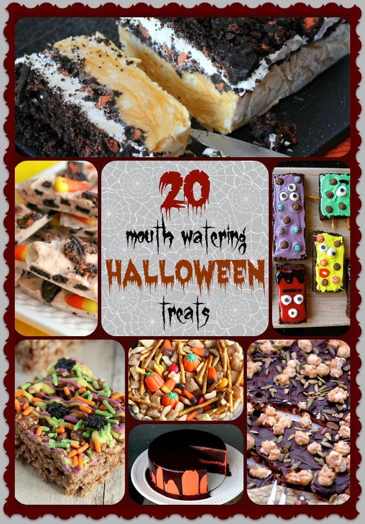 20 Mouthwathering Halloween Treats
