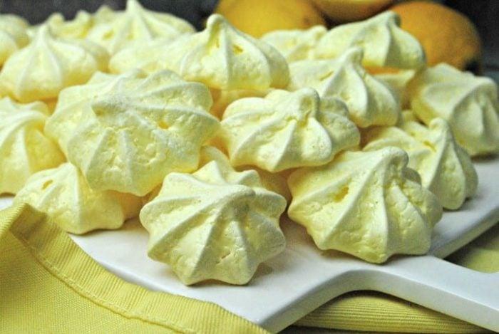 Lemon Meringue Cookies Recipe