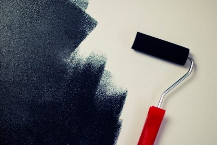 painting-black-paint-roller-small