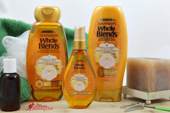 Enjoying Me Time with Garnier Whole Blends!