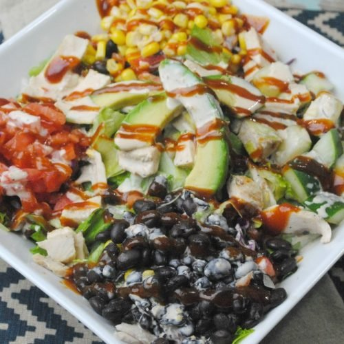 BBQ Ranch Chicken Salad Recipe
