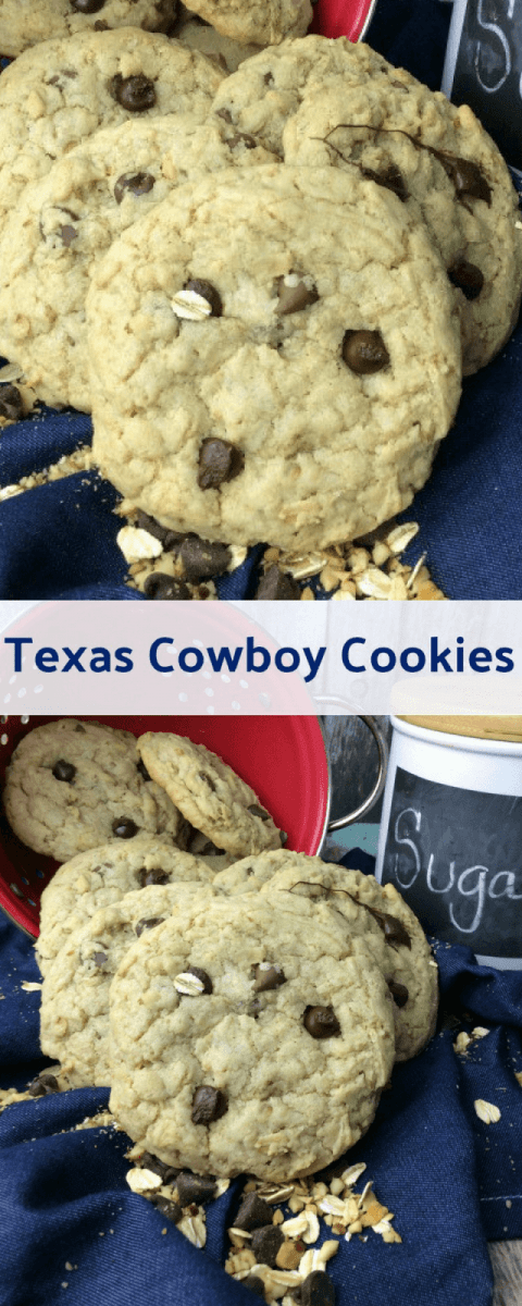 Texas Cowboy Cookies Recipe