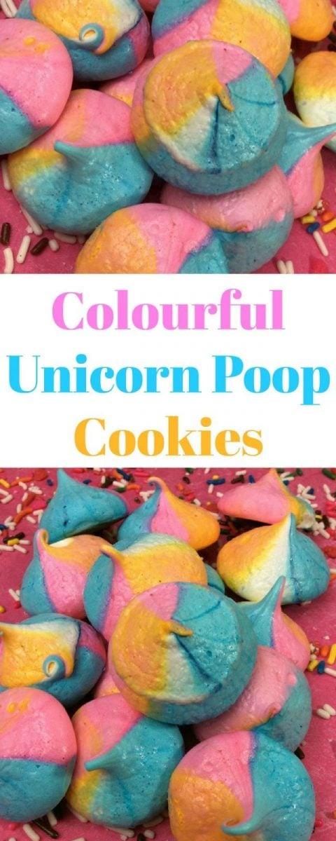 Unicorn Poop Cookies Recipe