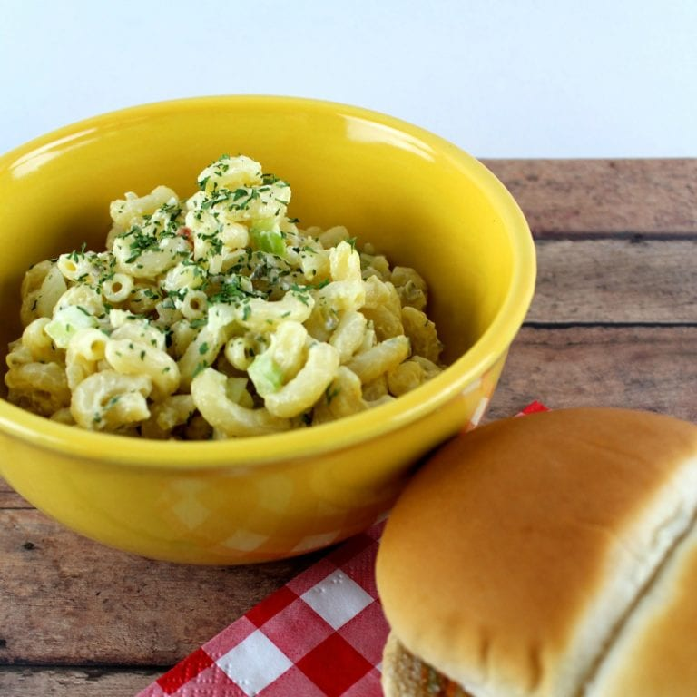 Old Fashioned Macaroni Salad Recipe