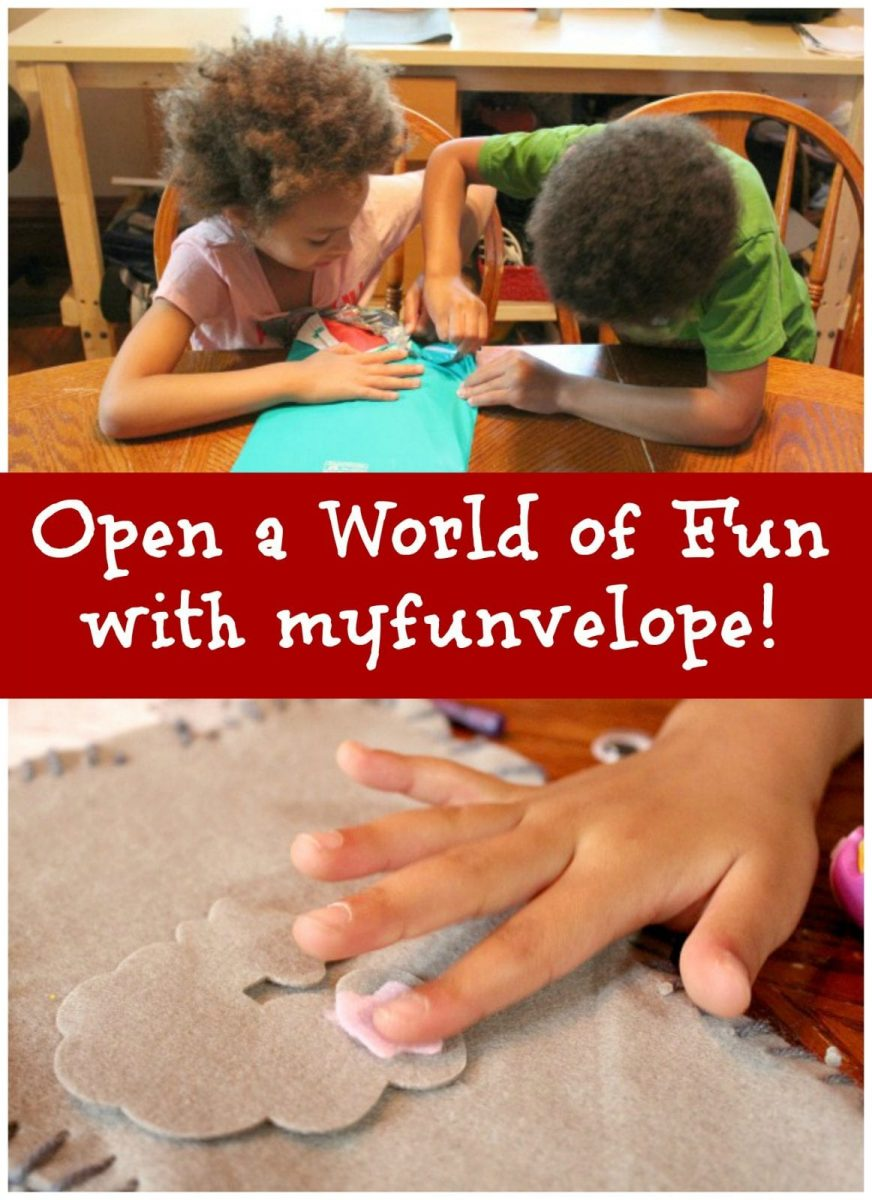 Open a World of Fun with myfunvelope! #Review #Giveaway
