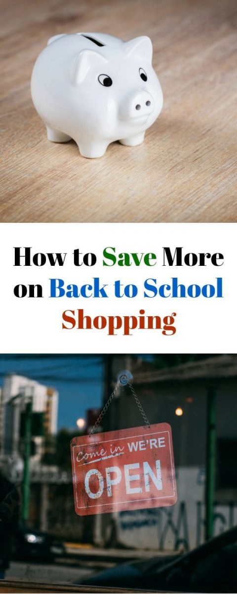 How to Save More on Back to School Shopping