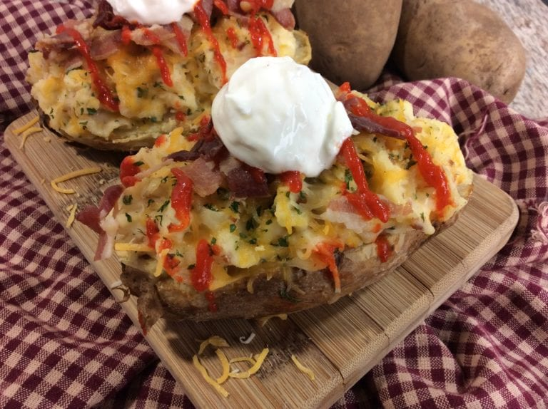 Twice Baked Bacon Potato Recipe