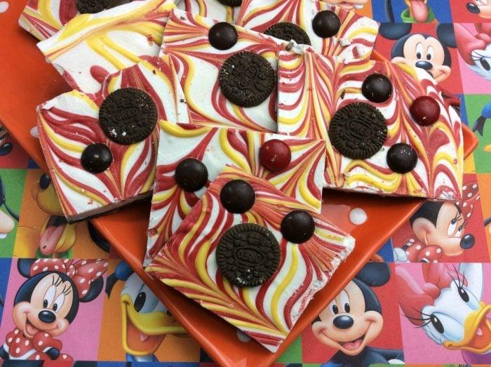 Mickey Mouse Bark Recipe