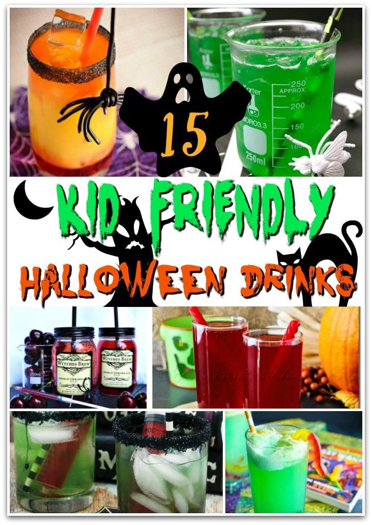 15 Kid Friendly Halloween Drinks