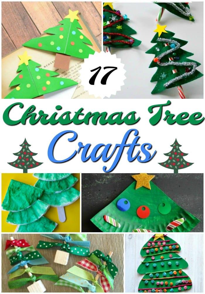 17 Christmas Tree Crafts