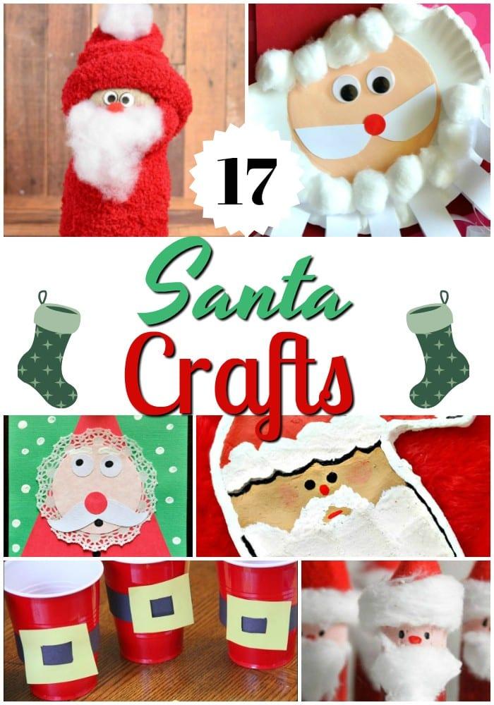 17 Santa Crafts For Kids