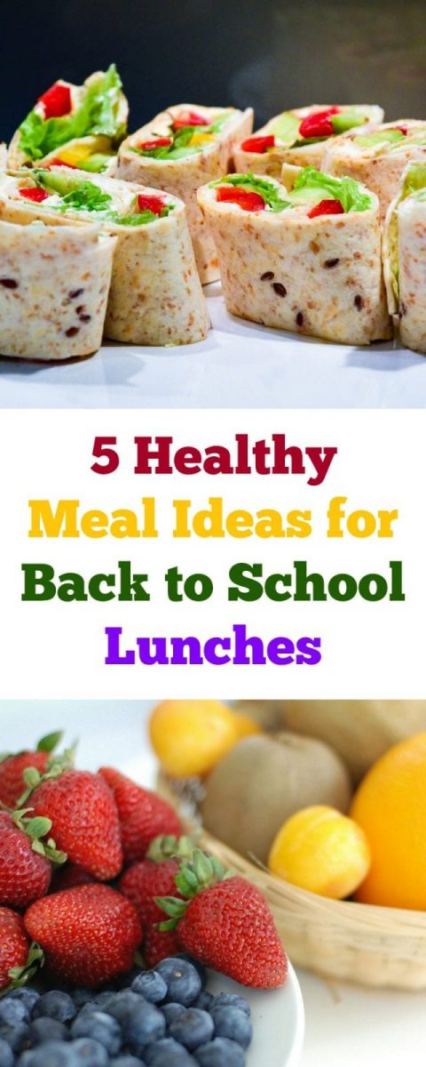 5 Healthy Meal Ideas for Back to School Lunches