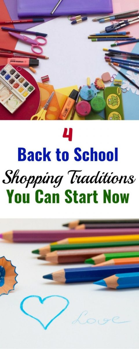 4 Back to School Shopping Traditions You Can Start Now